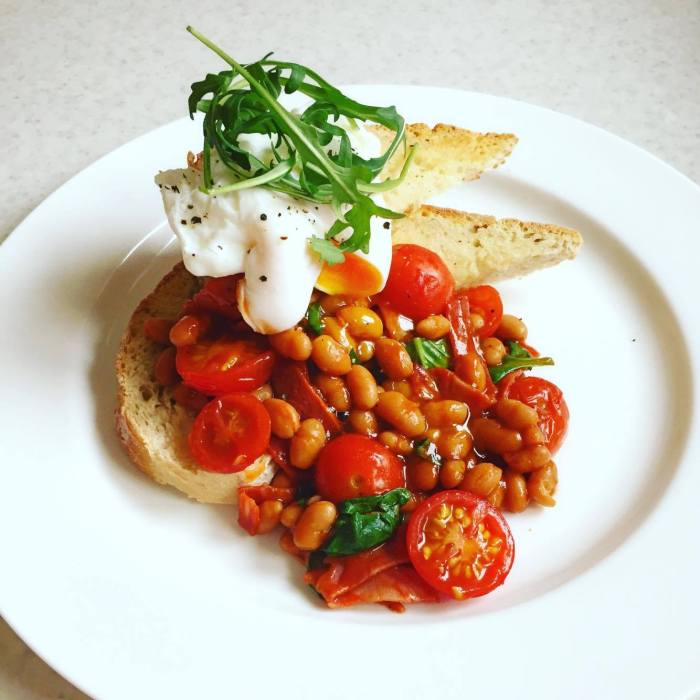 chorizo-and-tomato-beans-on-sourdough-toast